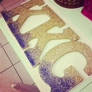 letters glitter and glitter letters on pinterest With tri delta wooden letters