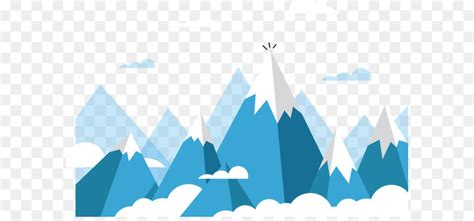 mount everest euclidean vector mountain rolling snow