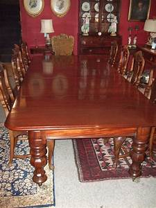 Victorian, Mahogany, Pull, Out, Dining, Table