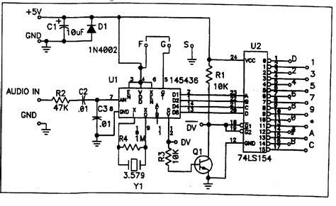 ctcss decoder encoder  audio tone subtone hz