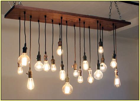 edison bulb chandelier diy home design ideas