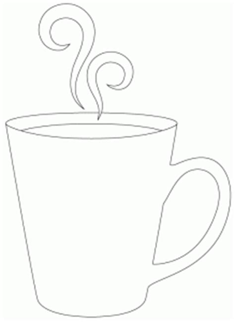 FREE COFFEE CUP APPLIQUE PATTERN   APPLIQ PATTERNS