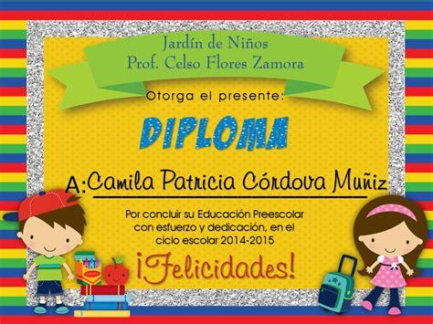 diploma de inicial alejandro guevara 7 diplomas para culminaci 243 n de estudios preescolares