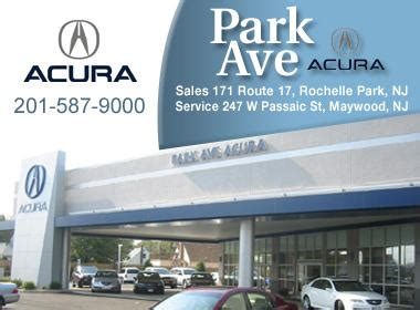 Acura Maywood Nj by Park Ave Acura At 171 Route 17 Rochelle Park Nj On Fave