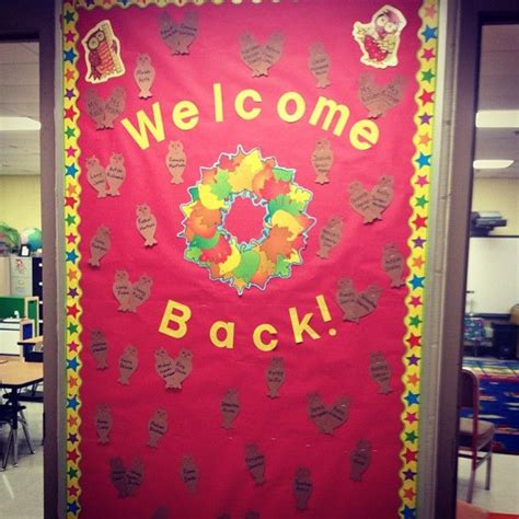 Welcome Back Door Decorating Ideas | Decoration For Home on
