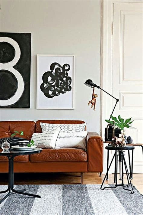 brown leather couch decor color me good pinterest