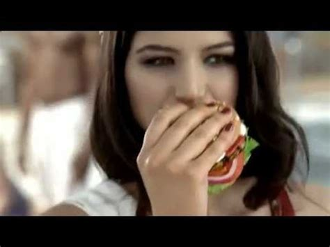 Miss Turkey Gizem Memic - Turkey Burger Commercial - YouTube