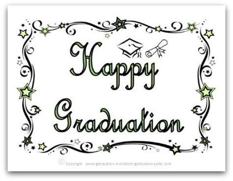 graduation card templates free printable graduation cards
