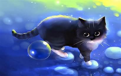 Cool Animals Pretty Digital Backgrounds Cat Kitten