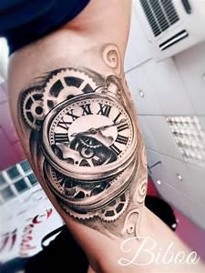 Tatouage Montre A Gousset Avant Bras : tattoo paradyse salon de tatouage 93 ~ Carolinahurricanesstore.com Idées de Décoration