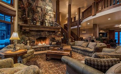 million wood stone mountaintop mansion  park city