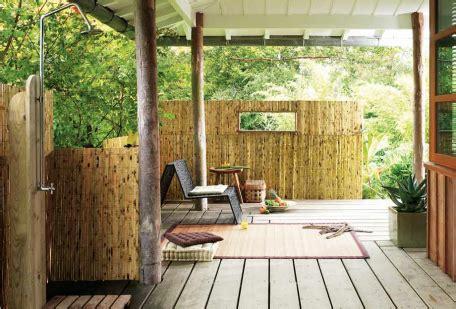 decoration de la maison decoration exterieur bambou