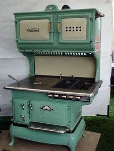 GREAT Vintage Combo Wood and Gas Stove!