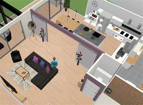amenagement cuisine salon donner votre avis sur plan d 39 amenagement salon cuisine