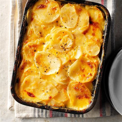 gratin potatoes potato recipe recipes simple scalloped taste oven easy augratin ham homemade casserole cheese roasted chicken mashed pleasing crowd