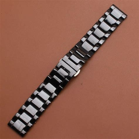 promotion  replace mm  band ceramic black strap