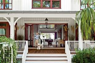 entry lowcountry style house southern living - Southern Living Floorplans