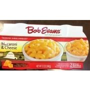 bob evans macaroni cheese calories nutrition analysis