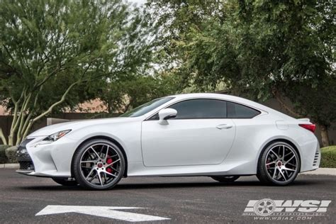 custom lexus rc 350 lexus rc 350 custom wheels rsr r702 20x et tire size