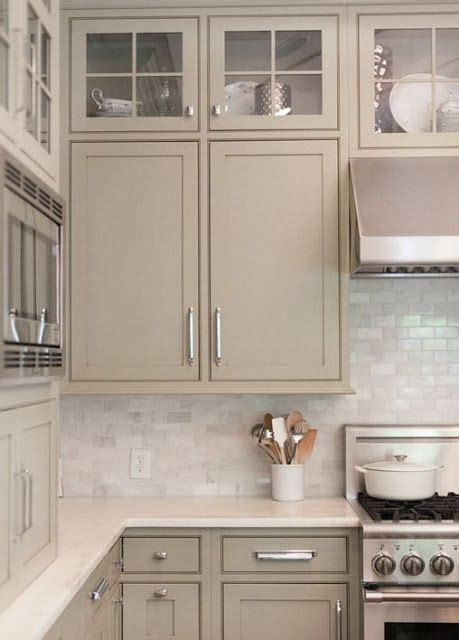 taupe colored kitchen cabinets 30 timeless taupe home d 233 cor ideas digsdigs