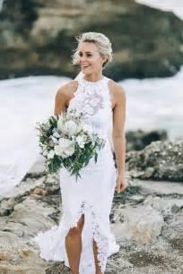 Lace Beach Wedding Dresses