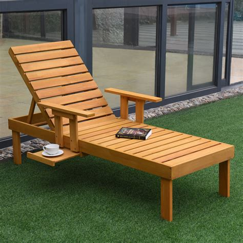 Outdoor Deck Chairs by Giantex Patio Chaise Sun Lounger Outdoor Furniture Garden