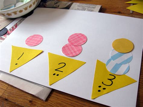 on math for preschool the letter quot i quot the measured 978 | ice cream counting
