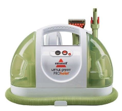 steam cleaner i the pretty green color and it