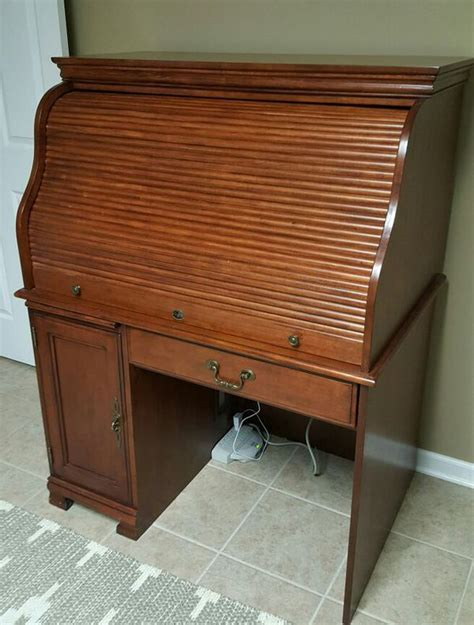 ashley furniture roll top desk  sale  colonial