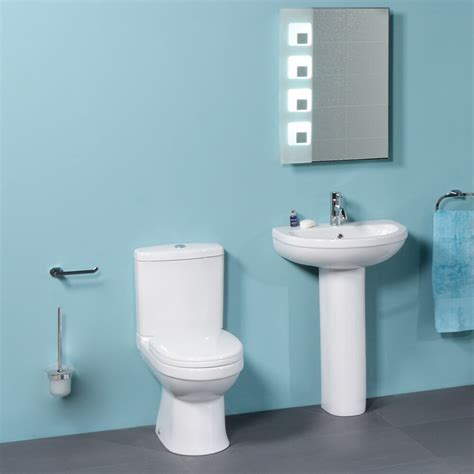 two bathroom suite basin pedestal bathroom suite toilet wc basin sink coupled pan pedestal two ebay