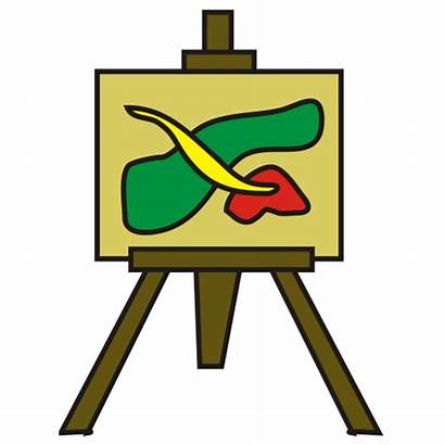 Canvas Clipart Painting Paint Clip Cliparts Apinting