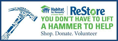 donation criteria habitat  humanity  greater miami