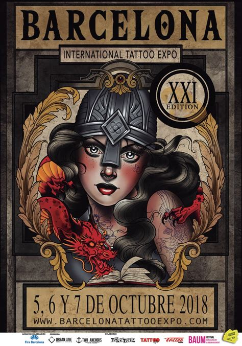 barcelona tattoo expo october