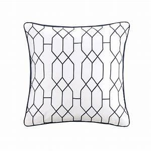 Carroll, Navy, By, Fiveten, 510, Designs, Bedding