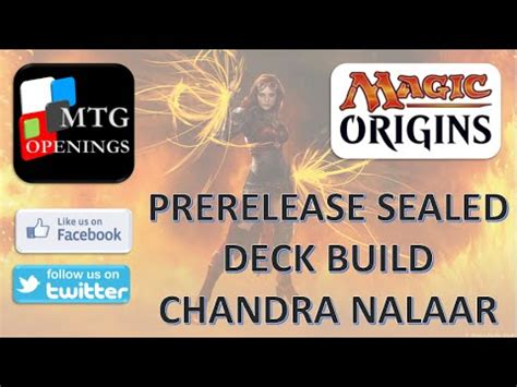sealed deck generator origins magic origins sealed deck building chandra nalaar
