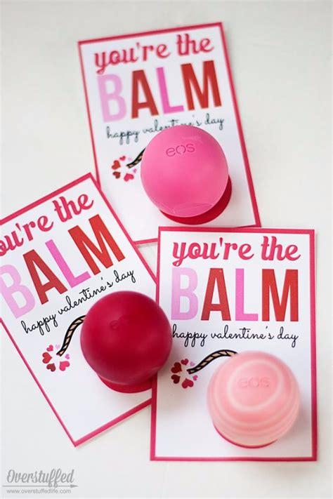 Printable Valentine You're the Balm