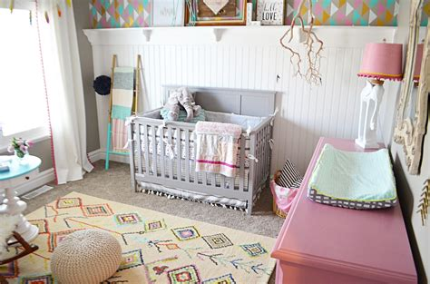 Boho Nursery Tour Designing A Galley Kitchen Contemporary Interiors Rustic Cabinets For Kitchens Style U Shaped Makeovers Urban Tulsa Go Transit Kitchener Schedule