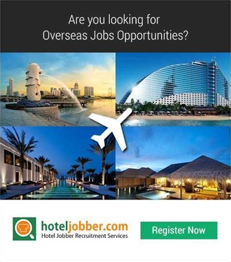 Kitchen Helper Overseas by Are You Looking For Hotel Opportunities Get A