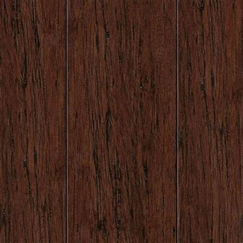 mocha bamboo flooring take home sle hand scraped strand woven mocha bamboo flooring 5 in x 7 in hl 392118