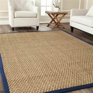 le tapis jonc de mer pour le salon classique en 60 belles With tapis de jonc de mer