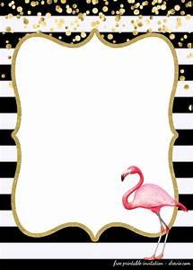 Princess Printables Free Free First Birthday Invitations Flamingo Style
