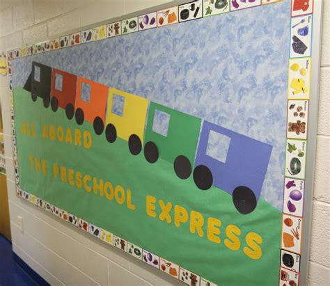 classroom theme on trains theme 573 | preschoolexpress