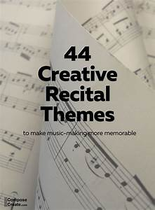 Dance Recital Program Template 44 Recital Themes Everyone Will Love Recital Piano