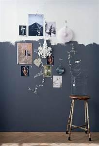 Peindre 2 Murs Sur 4 : 25 best ideas about murs demi peints sur pinterest ~ Dailycaller-alerts.com Idées de Décoration