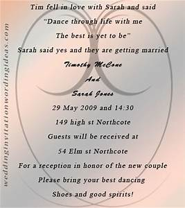 unique wedding invitation wording tips and ideas With samples of unique wedding invitation wording