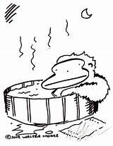 Tub Drawing Getdrawings Drawings sketch template
