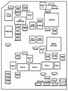 Chevrolet Monte Carlo  2007   U2013 Fuse Box Diagram