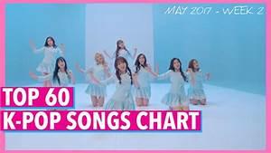 [TOP 60] K-POP SONGS CHART • MAY 2017 (WEEK 2) - YouTube
