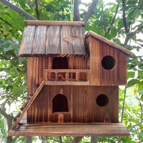 Wood Preservative Outdoor Birds Nest