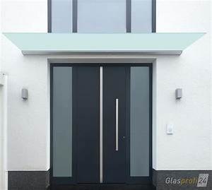 Glas Für Tür : vordach dura mit satiniertem glas eignet sich optimal f r geringen platz zwischen t r und ~ Orissabook.com Haus und Dekorationen